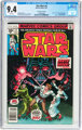 Star Wars #4 35 Cent Price Variant (Marvel, 1977) CGC NM 9.4 White pages