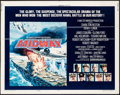"Movie Posters:War, Midway (Universal, 1976). Half Sheet (22"" X 28"") Style B. War.. ..."