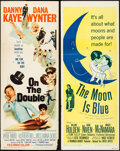"Movie Posters:Comedy, On the Double & Other Lot (Paramount, 1961). Inserts (2) (14"" X36""). Comedy.. ... (Total: 2 Items)"