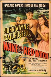 "Wake of the Red Witch & Other Lot (Republic, 1949). One Sheets (2) (27"" X 41""). Adventure. ... (Total: 2 I..."