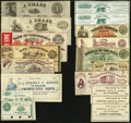 Obsoletes By State:Pennsylvania, PA - Lot of 18 Pennsylvania Remainder Scrip Notes. . ... (Total: 18 notes)