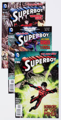 Modern Age (1980-Present):Superhero, Superboy Related Titles Short Box Group (DC, 1990s-2000s)Condition: Average NM-....