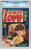 Golden Age (1938-1955):Romance, First Love Illustrated #11 File Copy (Harvey, 1951) CGC VF 8.0 Light tan to off-white pages....