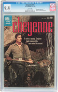 Silver Age (1956-1969):Western, Cheyenne #18 (Dell, 1960) CGC NM 9.4 White pages....