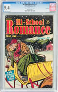 Golden Age (1938-1955):Romance, Hi-School Romance #7 File Copy (Harvey, 1951) CGC NM 9.4 Cream to off-white pages....
