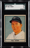 Baseball Cards:Singles (1940-1949), 1941 Play Ball Bill Dickey #70 SGC 70 EX+ 5.5....