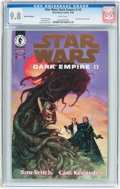 Modern Age (1980-Present):Science Fiction, Star Wars: Dark Empire II #3 Gold Foil Edition (Marvel, 1995) CGCNM/MT 9.8 White pages....