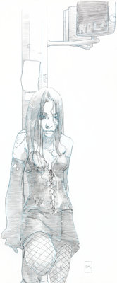 Joshua Middleton NYX #3 Cover and Concept Art X-23 First Appearance Original Art (Marvel, 2004).... (Total: 4 Original A...