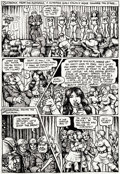 "Original Comic Art:Panel Pages, Robert Crumb Motor City Comics #2 ""Lenore Goldberg"" StoryPage 7 Original Art (Rip Off Press, 1970)...."