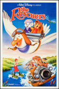 "Movie Posters:Animation, The Rescuers & Other Lot (Buena Vista, R-1989). One Sheets (2) (27"" X 41""). Animation.. ... (Total: 2 Items)"