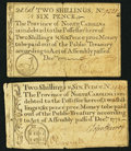 Colonial Notes:North Carolina, NC - Lot of 2 North Carolina December 1771 2 Shillings 6 PenceNotes.. ... (Total: 2 notes)