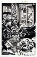 Original Comic Art:Panel Pages, Eddy Newell Batman: Legends of the Dark Knight #108 PageOriginal Art (DC, 1998)....