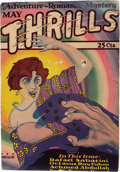 Pulps:Detective, Thrills V1#1 (Thrills Publishing Co., 1927) Condition: GD/VG....