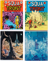 Squa Tront #1-4 Second Printing Group (Jerry Weist, 1967) Condition: FN/VF.... (Total: 5 Items)