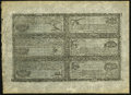 Colonial Notes:New Hampshire, NH - New Hampshire April 3, 1755 Crown Point Series LowerDenomination Uncut Sheet of Reprint Notes from the OriginalPlate....