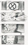 Original Comic Art:Miscellaneous, Trevor Goring X-Men 2 Storyboards Wolverine in Danger RoomSequence Original Art Group of 22 (Fox Studios, 2003). ... (Total:24 Original Art)