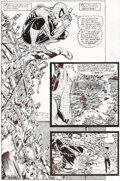 Original Comic Art:Panel Pages, Todd McFarlane Amazing Spider-Man #316 Story Page 5 OriginalArt (Marvel, 1989)....