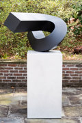 Post-War & Contemporary:Sculpture, Clement L. Meadmore (1929-2005). Verge, 1971. Cor-Ten Steel.49 x 38 x 25 inches (124.5 x 96.5 x 63.5 cm). Ed. 1/4. ...