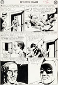 Original Comic Art:Panel Pages, Sheldon Moldoff (as Bob Kane) and Joe Giella DetectiveComics #328 Story Page 10 Batman and Robin Original Art (DC...