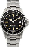 Timepieces:Wristwatch, Rolex Rare Double Red Sea-Dweller Submariner 2000, Ref. 1665, circa1972. ...