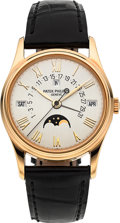 Timepieces:Wristwatch, Patek Philippe Ref. 5050J Perpetual Calendar 18K Gold Moonphase Wristwatch. ...