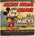 Big Little Book:Cartoon Character, Big Little Book #nn Mickey Mouse and Minnie at Macy's (Whitman, 1934) Condition: FN....