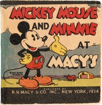 Big Little Book #nn Mickey Mouse and Minnie at Macy's (Whitman, 1934) Condition: FN