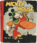 Big Little Book:Cartoon Character, Big Little Book #nn Mickey Mouse the Mail Pilot Rare 320 PageSoftcover Edition (Whitman, 1933) Condition: VG....