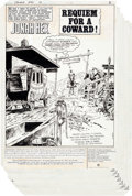 Original Comic Art:Complete Story, Dick Ayers and Tony DeZuniga Jonah Hex #66 Complete 23-Page Story Original Art (DC, 1982).... (Total: 23 Original Art)