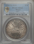Mexico, Mexico: Republic 8 Reales 1894 Ca-MM MS63 PCGS,...