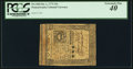 Colonial Notes:Pennsylvania, Pennsylvania October 1, 1773 15s PCGS Extremely Fine 40.. ...