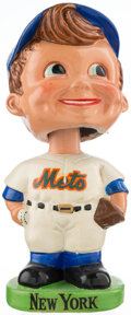 Baseball Collectibles:Others, 1963-66 New York Mets Green Base Nodder. ...