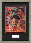 Boxing Collectibles:Autographs, 1966 The Ring Magazine Signed by LeRoy Neiman. ...