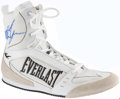 Boxing Collectibles:Autographs, Mike Tyson Signed Everlast Shoe. ...