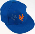 Autographs:Others, Nolan Ryan New York Mets Signed Hat. ...
