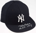 "Autographs:Others, Tony Kubek New York Yankees Signed Hat with ""ROY 1957"" Inscription...."