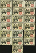 Fractional Currency:Fifth Issue, United States Fractional Currency - Lot of 19 Fifth Issue 10 CentsNotes.. ... (Total: 19 notes)