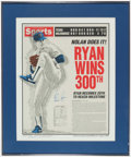 Autographs:Photos, Nolan Ryan Signed Lithograph Print....