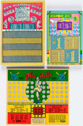 Baseball Collectibles:Others, 1940's-1950's Baseball Punch Out Cards. ...