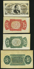Fractional Currency:Third Issue, United States Fractional Currency - Lot of 4 Third Issue Wide Margin Specimen Notes.. ... (Total: 4 notes)