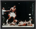 Boxing Collectibles:Autographs, Muhammad Ali Signed Oversized Photograph....