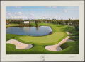 Golf Collectibles:Autographs, Arnold Palmer Signed Lithograph. ...