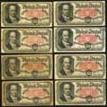 Fractional Currency:Fifth Issue, United States Fractional Currency - Lot of 17 Fifth Issue 50 CentsNotes.. ... (Total: 17 notes)