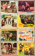 """Movie Posters:Western, The Sagebrush Troubadour & Others Lot (Republic, 1935). Title Lobby Cards (5) & Lobby Cards (25) (11"""" X 14""""). Western.. ... (Total: 31 Items)"""