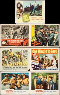 """Mister Roberts & Others Lot (Warner Brothers, 1955). Lobby Cards (30) (11"""" X 14""""). Comedy. ... (Total:..."""