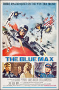 "Movie Posters:War, The Blue Max (20th Century Fox, 1966). One Sheet (27"" X 41""). War....."
