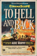 "Movie Posters:War, To Hell and Back (Universal International, 1955). One Sheet (27"" X41""). War.. ..."