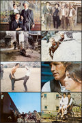 """Movie Posters:Western, Butch Cassidy and the Sundance Kid (20th Century Fox, 1969). Deluxe Lobby Card Set of 8 (11"""" X 14""""). Western.. ... (Total: 8 Items)"""