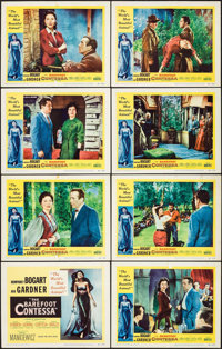 "The Barefoot Contessa (United Artists, 1954). Lobby Card Set of 8 (11"" X 14""). Drama. ... (Total: 8 Items)"