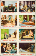 """Movie Posters:Thriller, Bad Day at Black Rock (MGM, R-1962). Lobby Card Set of 8 (11"""" X 14""""). Thriller.. ... (Total: 8 Items)"""